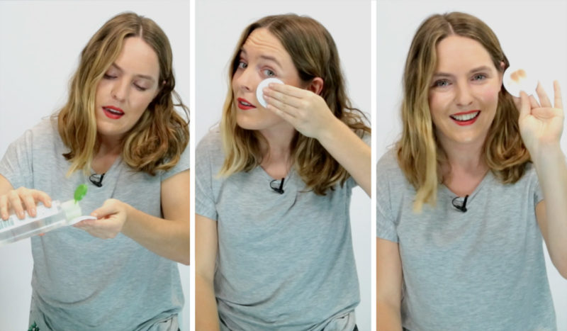 Уход и очистка кожи лица