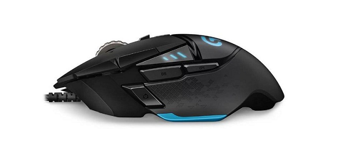 Logitech G G502 HERO Gaming Mouse Black USB